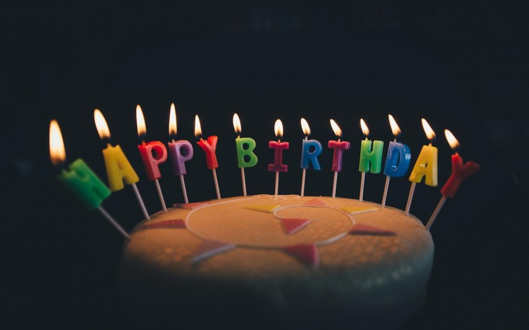 Happy Birthday Dear Baby…